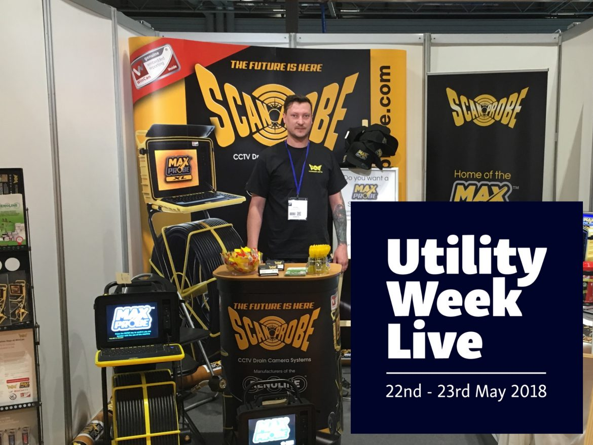 Scanprobe at Utility Week 2018