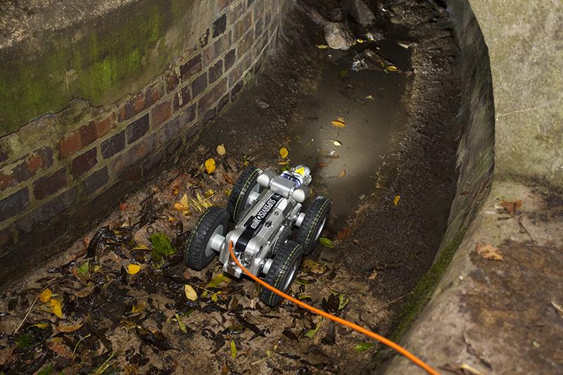 CCTV drain camera