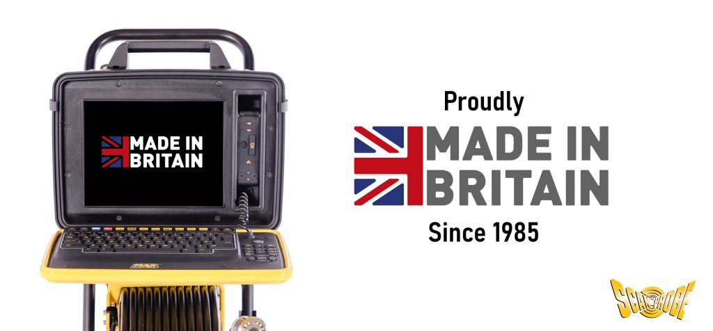 Scanprobe are proud to be Made in Britain