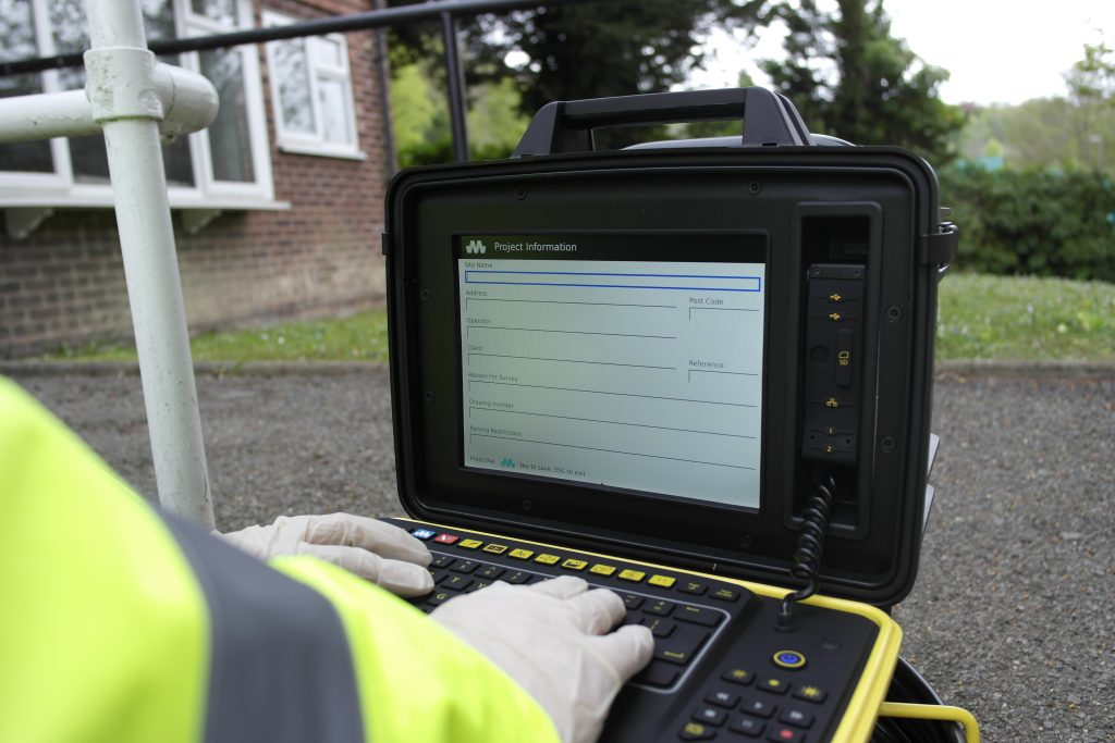 Drainage inspection reporting software