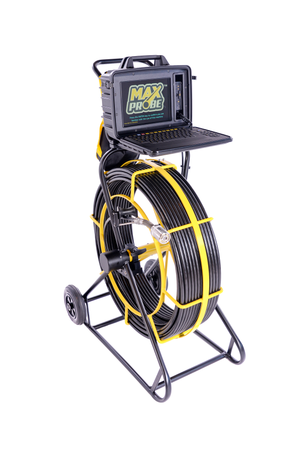 Maxprobe 120 drain camera system, with WinCan and mina Survey drain reporting software